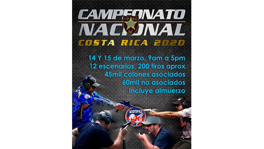 Campeonato Nacional CR-IPSC 2020